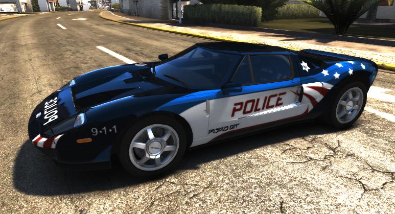 Nfshp Ford Gt Police Car Kada Dix